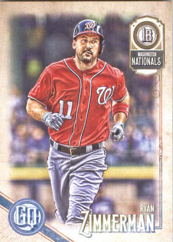 Photo of 2018 Topps Gypsy Queen #58 Ryan Zimmerman