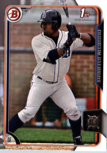 Photo of 2015 Bowman Draft #178 Christin Stewart