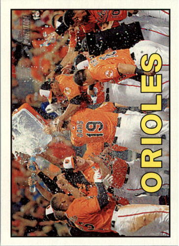 Photo of 2016 Topps Heritage #341 Baltimore Orioles