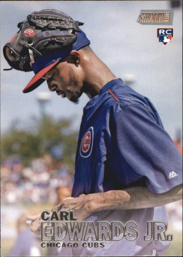 Photo of 2016 Stadium Club #145 Carl Edwards Jr. RC