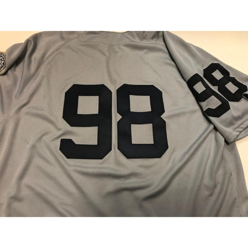 Photo of Game-Used 1968 World Series 50th Anniversary Jersey: John Murrian