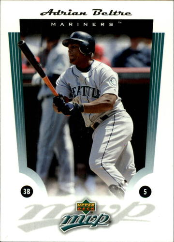 Photo of 2005 Upper Deck MVP #2 Adrian Beltre