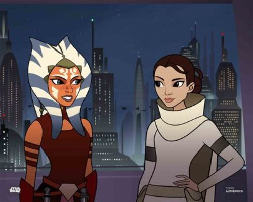 Ahsoka Tano and Padmé Amidala