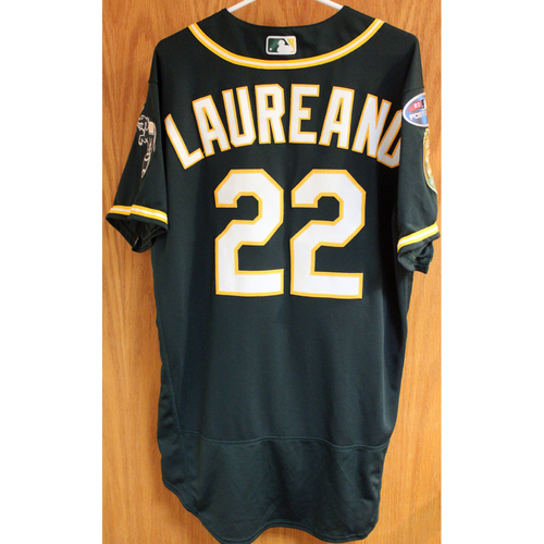 Photo of Game-Used Jersey: Ramon Laureano AL Wild Card Game 10/3/18