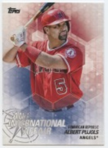Photo of 2018 Topps Update An International Affair #IA15 Albert Pujols
