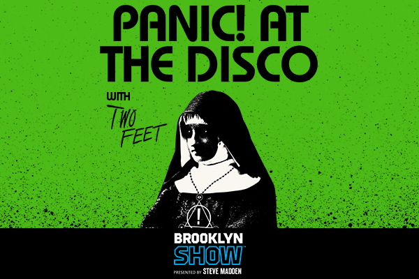 Clickable image to visit Panic! at the Disco in Brooklyn