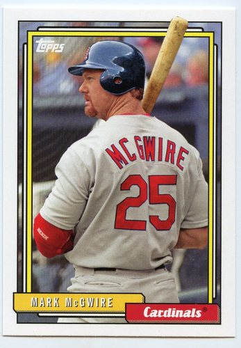 Photo of 2017 Topps Archives #231 Mark McGwire