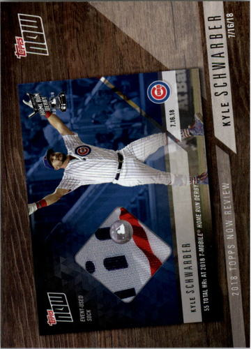 Photo of 2019 Topps '18 Topps Now Review #TN7 Kyle Schwarber