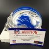 NFL - Lions T. J. Hockenson Signed Mini Helmet