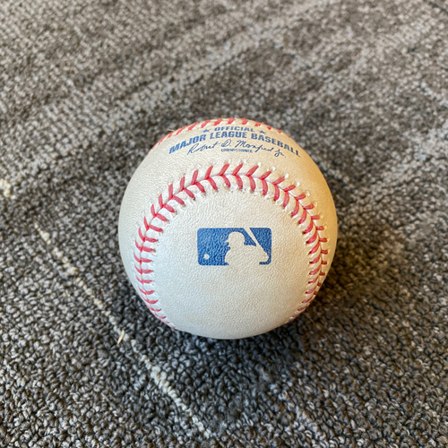 Photo of 2019 Game Used Baseball used on 9/10 vs. Pittsburgh Pirates - B-1: Mitch Keller to Stephen Vogt - 2 RBI Single to RF (Mauricio Dubon & Brandon Belt Score)