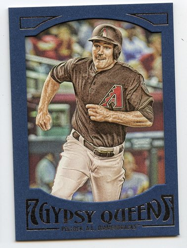 Photo of 2016 Topps Gypsy Queen Framed Blue #3 A.J. Pollock