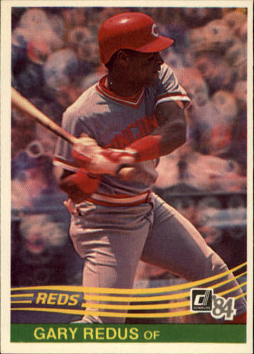Photo of 1984 Donruss #184 Gary Redus RC