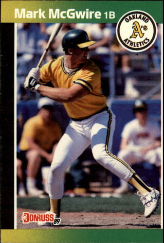 Photo of 1989 Donruss #95 Mark McGwire
