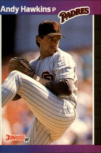 Photo of 1989 Donruss #583 Andy Hawkins DP