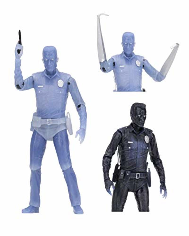 """Photo of NECA - Terminator 2 - 7"""" Scale Action Figure - Kenner Tribute - White Hot T-1000"""