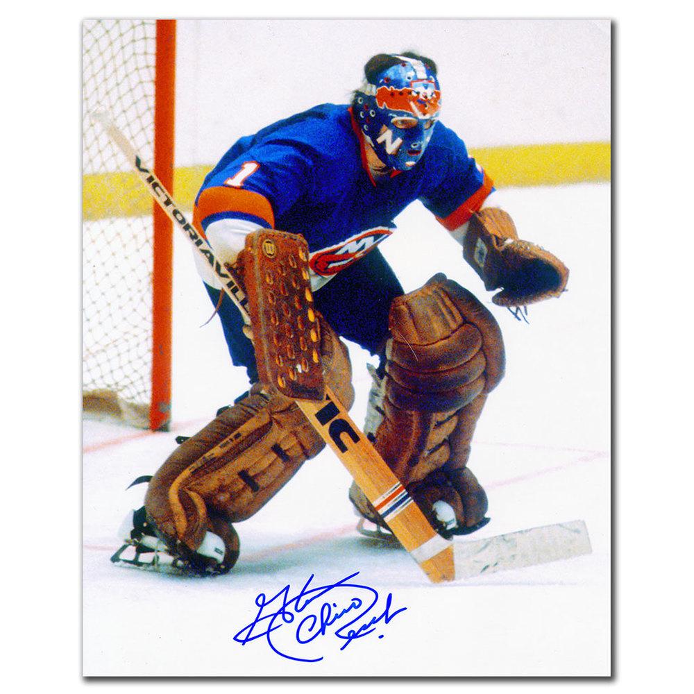 Glenn Chico Resch New York Islanders Autographed 8x10