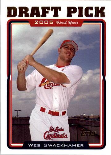 Photo of 2005 Topps #669 Wes Swackhamer FY RC