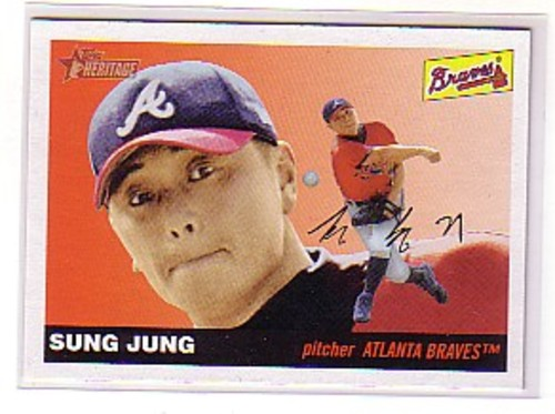 Photo of 2004 Topps Heritage #303 Sung Jung RC