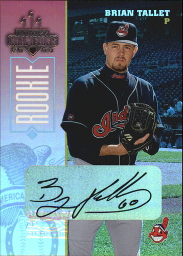Photo of 2003 Donruss Champions Autographs #76 Brian Tallet/250