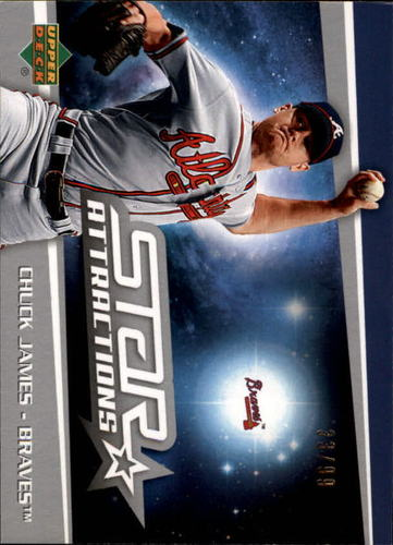 Photo of 2006 Upper Deck Star Attractions Silver #JA Chuck James UPD RC 33/99