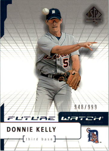 Photo of 2004 SP Authentic #98 Donnie Kelly FW RC
