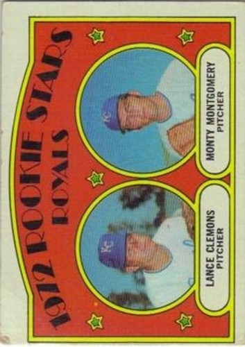 Photo of 1972 Topps #372 Rookie Stars/Lance Clemons RC/Monty Montgomery RC