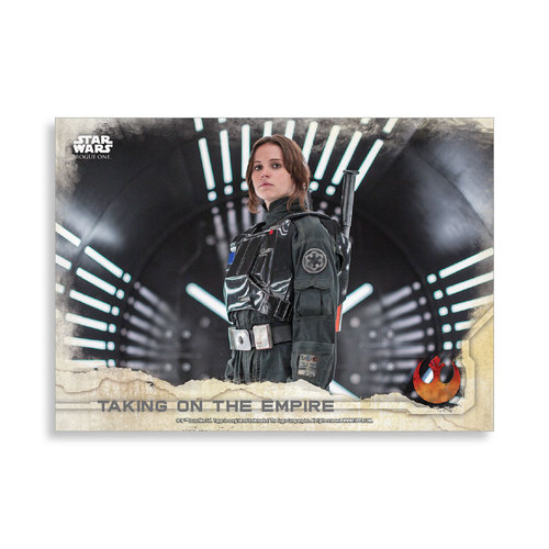 Taking on the Empire 2016 Star Wars Rogue One Series One Base Poster - # to 99