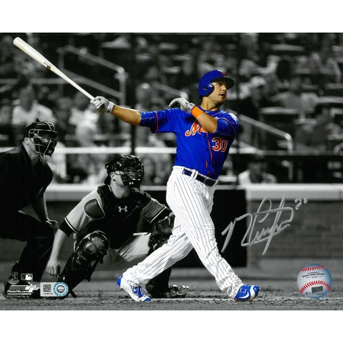Photo of Michael Conforto - Autographed 16X20 Photo (Black and White)