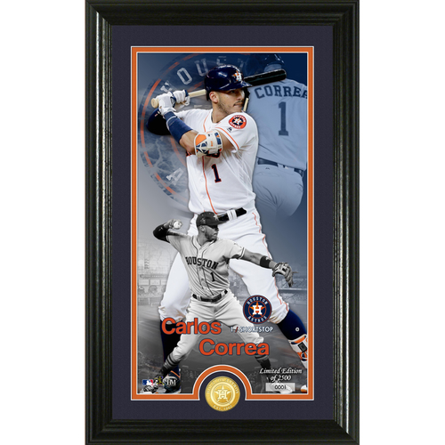 Photo of Carlos Correa Supreme Bronze Coin Photo Mint