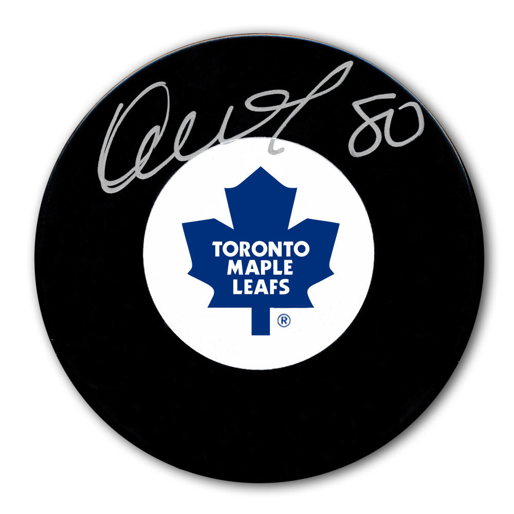 Nik Antropov Toronto Maple Leafs Autographed Puck
