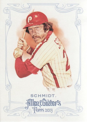 Photo of 2013 Topps Allen and Ginter #143 Mike Schmidt