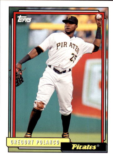 Photo of 2017 Topps Archives #238 Gregory Polanco