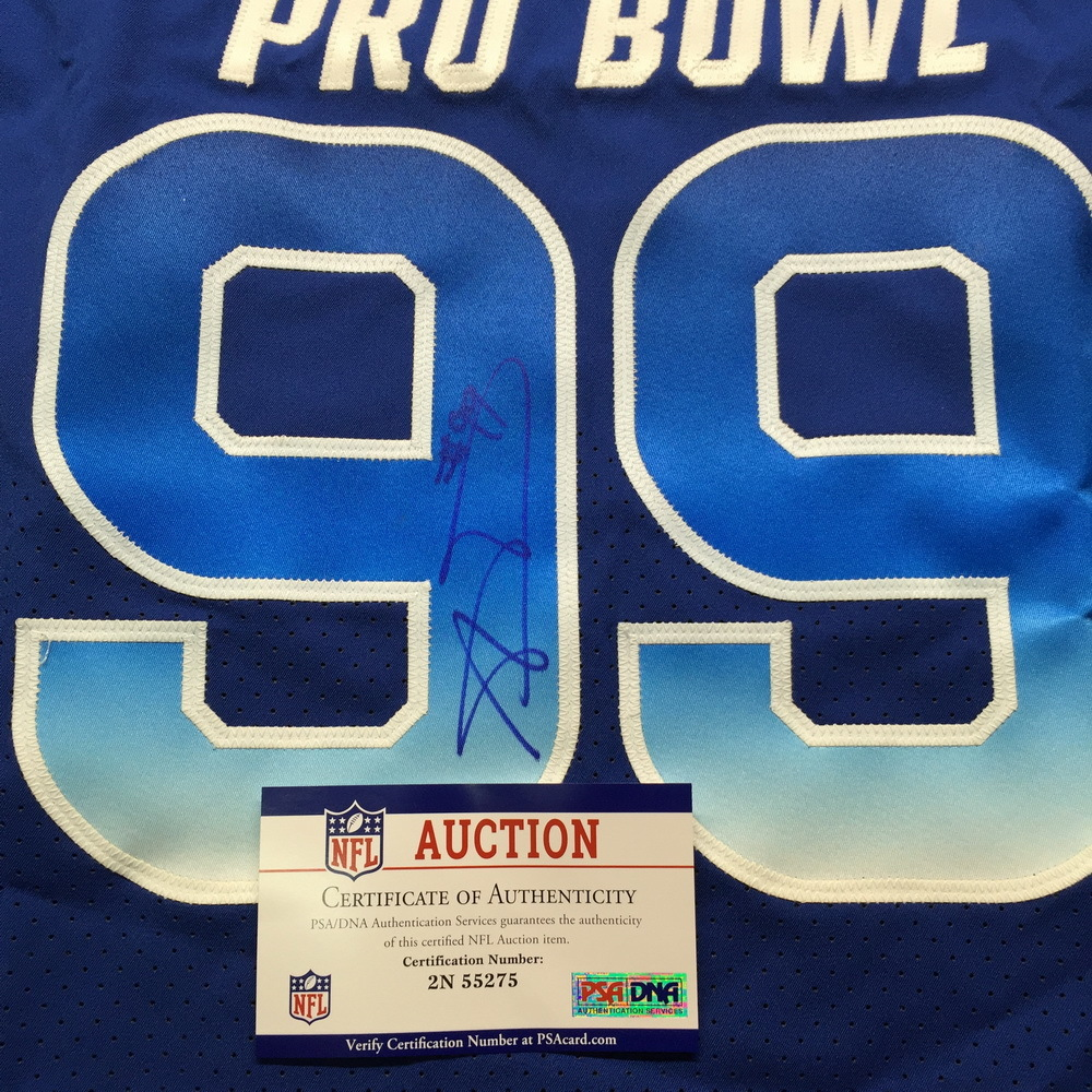 huge discount b5d47 5db96 NFL Auction | PCC - Rams Aaron Donald Signed and Game Issued ...