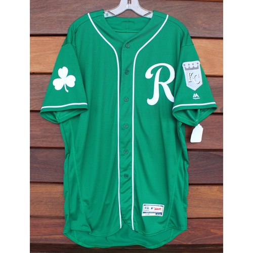 Photo of Team-Issued St. Patrick's Day Jersey: Kevin McCarthy (Size - 46)