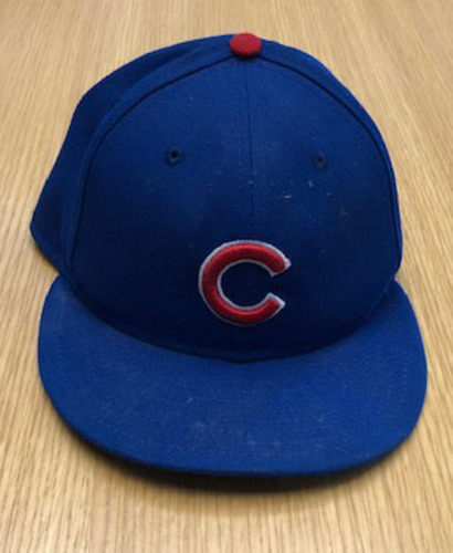 Photo of Jason Heyward Team-Issued Hat -- Size 7 1/4