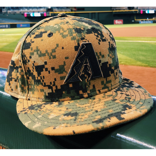 Photo of Paul Goldschmidt Game-Used, Home Run, Memorial Day Cap-- 5/30/16