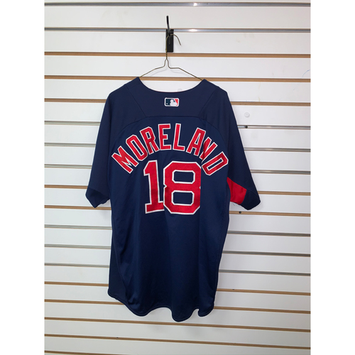 Photo of Mitch Moreland Team Issued Road Batting Practice Jersey