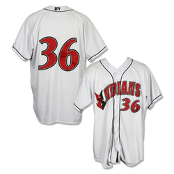 Photo of #36 Game Worn Home White Jersey