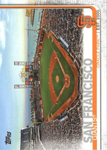 Photo of 2019 Topps #616 Oracle Park