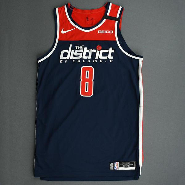 Image of Rui Hachimura - Washington Wizards - Game-Worn Statement Edition Jersey - Played 5 Games - 2019-20 NBA Season