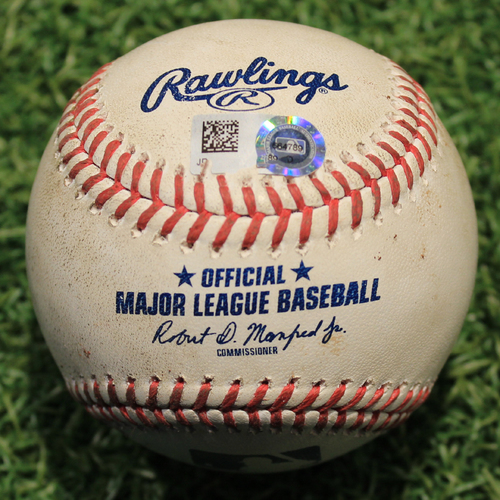 Photo of Game-Used Baseball: Victor Caratini 130th Career Hit (CHC @ KC 8/5/20)