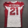 Crucial Catch - Cardinals Patrick Peterson Signed Game Issued Jersey Size 40 with Captains Patch