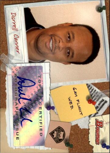 Photo of 2009 Bowman Major League Scout Autographs #SCDC Darrell Conner