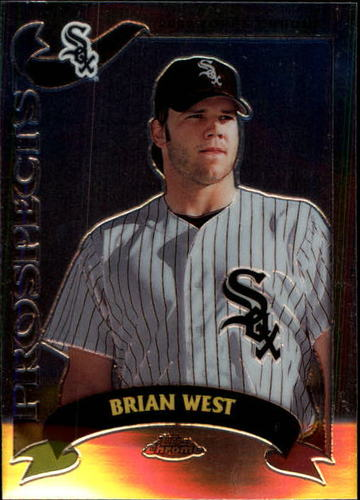Photo of 2002 Topps Chrome Traded #T153 Brian West RC