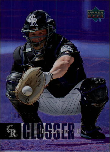 Photo of 2006 Upper Deck Special F/X Purple #162 J.D. Closser /150