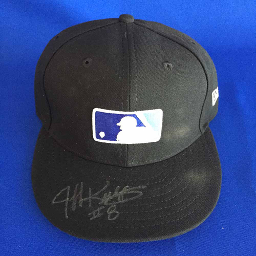 Photo of UMPS CARE AUCTION: Jeff Kellogg Signed Father's Day Base Cap - Size 7 1/8 - Not MLB Authenticated