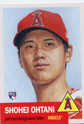 Photo of 2018 Topps Living #7 Shohei Ohtani Rookie Card