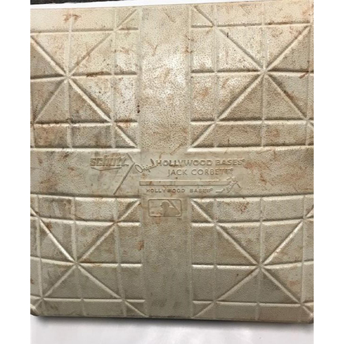 Photo of Game-Used Base: Roberto Clemente Day