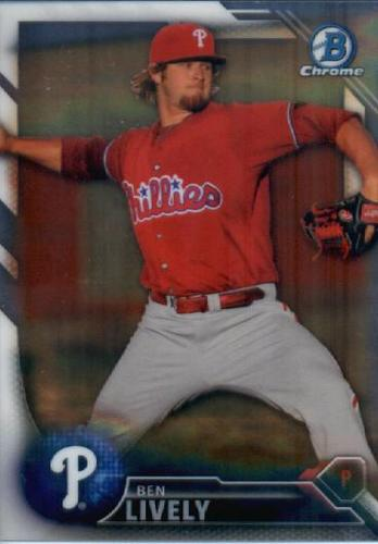 Photo of 2016 Bowman Chrome Prospects #BCP167 Ben Lively