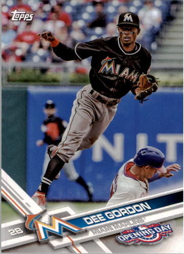 Photo of 2017 Topps Opening Day #181 Dee Gordon